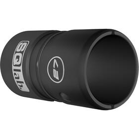 SQlab Lenkerhülse Alu 27,0 auf 31,8 mm eloxiert schwarz